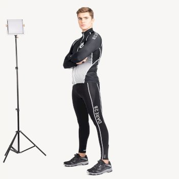Men's Virtuosity Long Sleeved AEP Jersey Black Gradient