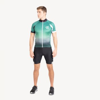 Men's Virtuosity Short Sleeved AEP Jersey Ultramarine Green