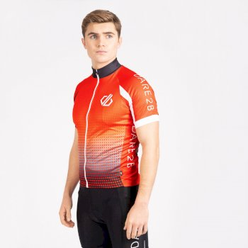 Men's Virtuosity Short Sleeved AEP Jersey Trail Blaze Gradient