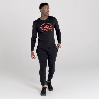 The Jenson Button Edit - Upgrade Long Sleeved Graphic T-Shirt Black