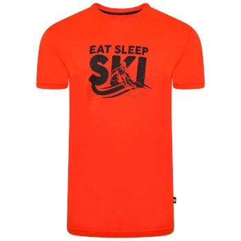 T-shirt graphique à manches courtes Homme DUBIOUS Orange