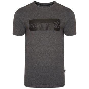 T-shirt graphique à manches courtes Homme DUBIOUS Gris