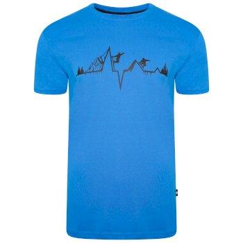 The Jenson Button Edit - Dubious Short Sleeved Graphic T-shirt Athletic Blue