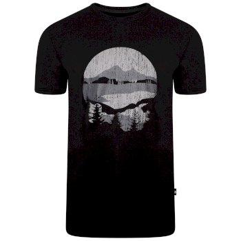 T-shirt graphique à manches courtes Homme DUBIOUS Noir