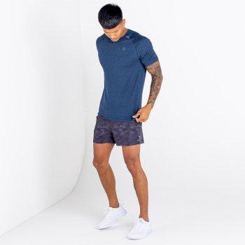 Men's Persist T-Shirt Nightfall Navy Marl