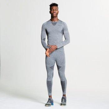 Men's Zonal III Base Layer Set Charcoal Grey