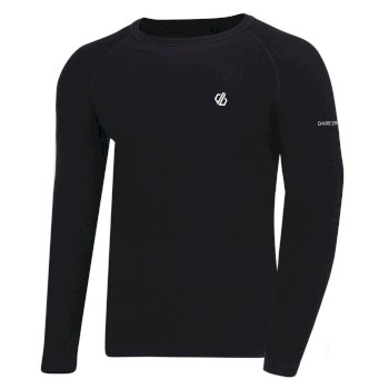 Men's In The Zone Performance Base Layer Set Black
