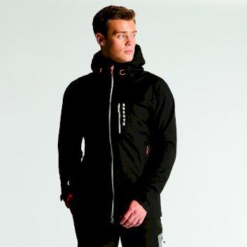 Veste imperméable Diligence Jacket Noir