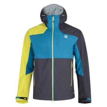 Veste technique imperméable et ergonomique pour montagne et outdoor Homme ULTIMATE PEAK Bleu