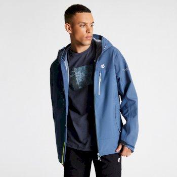 Men's Resolute AEP Lightweight Hooded Waterproof Jacket Meteor Grey