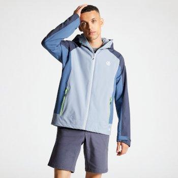 Men's Recode Lightweight Hooded Waterproof Jacket Gravity Quarry Grey