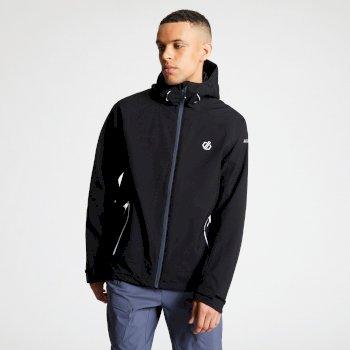 Men's Recode Lightweight Hooded Waterproof Jacket Black