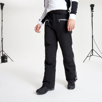 Pantalon de ski technique et ergonomique collection design BLACK LABEL Homme RISE OUT Noir
