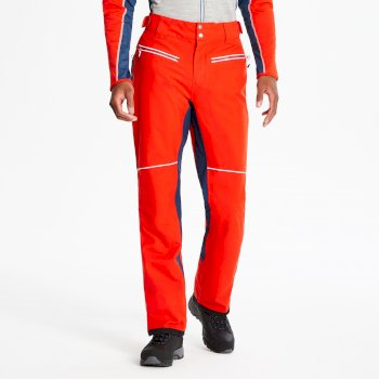 Salopette de ski hautement technique ergonomique Homme INTRINSIC Rouge