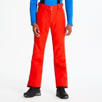 Pantalon de ski technique ACHIEVE Rouge