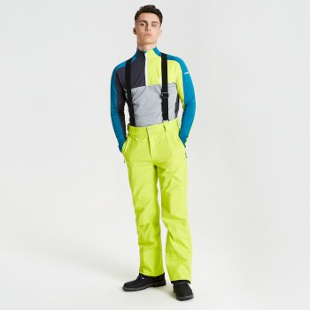 Men's Achieve Ski Pants Citron Lime