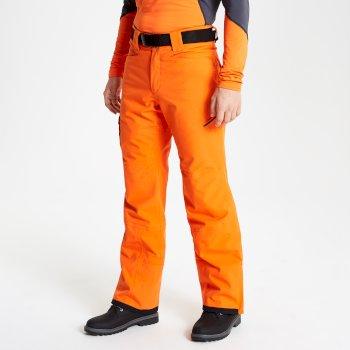 Interfused Core Herren Stretch Shirt Reißverschluss Clementine Ebenholz