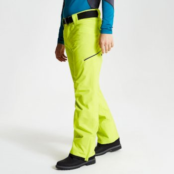 Men's Absolute Ski Pants Citron Lime