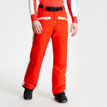 Pantalon de ski technique et ergonomique collection design BLACK LABEL Homme CHARGE OUT Rouge