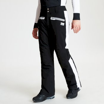 Pantalon de ski technique et ergonomique collection design BLACK LABEL Homme CHARGE OUT Noir