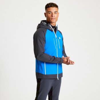 Veste Homme imperméable ASCENSION Bleu