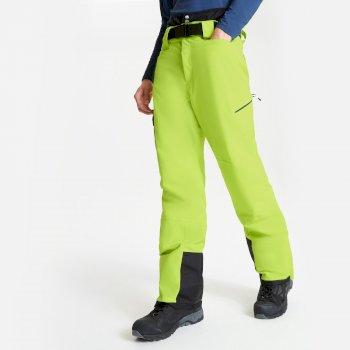 Pantalon de ski Homme imperméable et isolant ABSOLUTE II Jaune