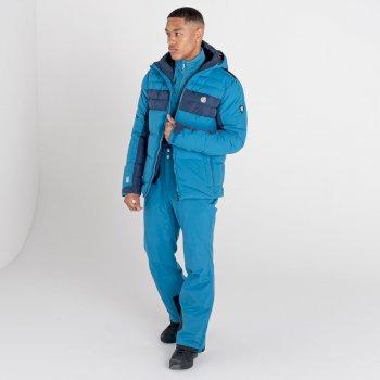 Men's Achieve II Recycled Waterproof Ski Pants Dark Methyl