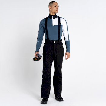 La Collection Jenson Button - Salopette de ski Homme imperméable ACHIEVE II Noir