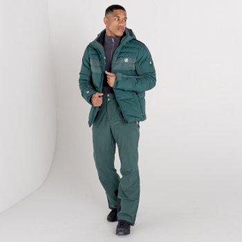 Men's Achieve II Recycled Waterproof Ski Pants Fern Green