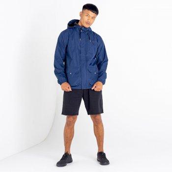 Men's All Round Waterproof Hooded Parka Jacket  Nightfall Navy