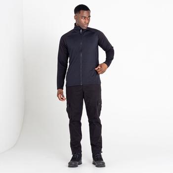 Men's Collective Full Zip Core Stretch Midlayer Black