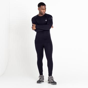 Men's Zone In Long Sleeved Baselayer Top Black