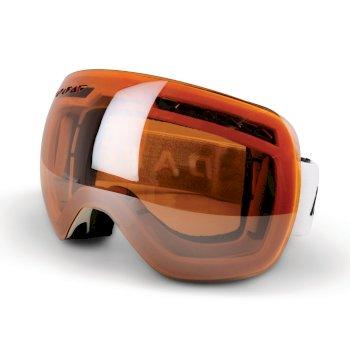 Liberta Adult Ski Goggles White