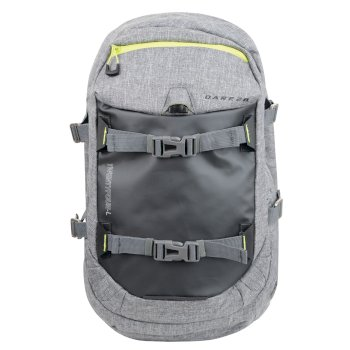 Krosfire 24 Litre Rucksack Grey Marl Electric Lime