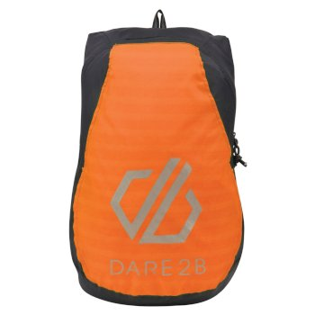Silicon III Rucksack Ebony Grey Shocking Orange