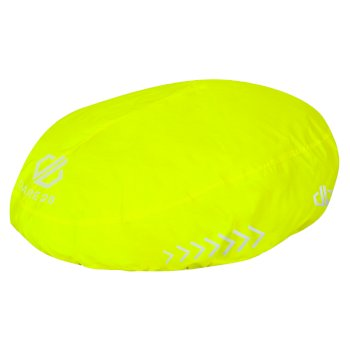 Adults' Dight Helmet Cover Fluro Yellow