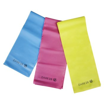 Resistance Bands Yellow Blue Pink