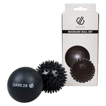 Duo Massage Balls Ebony Grey