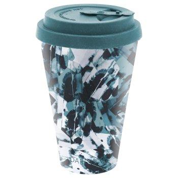 Bamboo Coffee Mug Dragonfly Ink Print