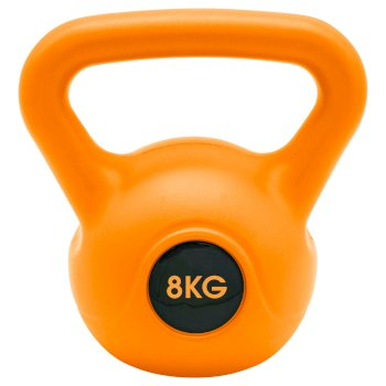 Kettle Musculation 8kg  Orange