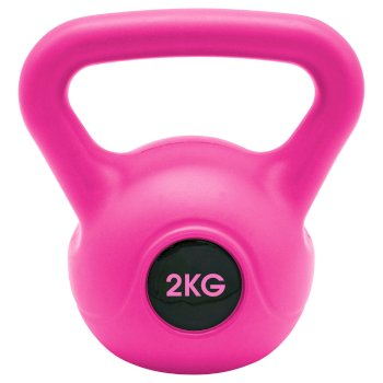 Kettle Musculation 2kg  Rose