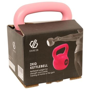 Kettle Bell 2kg Pink