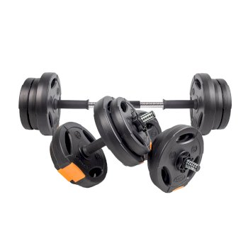 15kg Weights Set Black