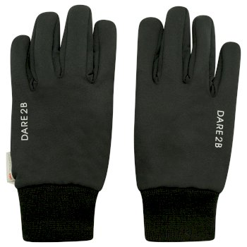 Adults' Outing Seamless Gloves Black