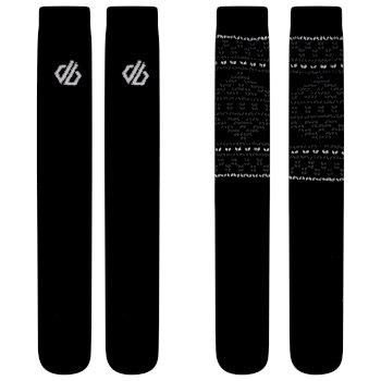 Adult's Thermal Socks 2 Pack Black
