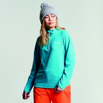 Women's Freeze Dry II Half Zip Fleece Aqua