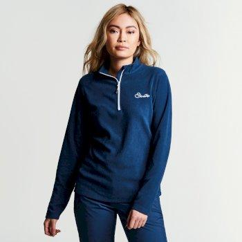 Women's Freeze Dry II Half Zip Fleece Blue Wing
