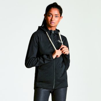 Sweat Crosswise Hoody Noir