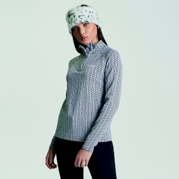 Polaire Motif II Sweater Black/White