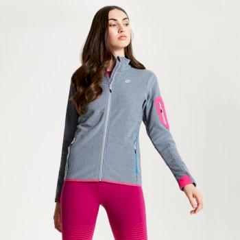 Women's Tenable Full Zip Fleece Gravity Grey